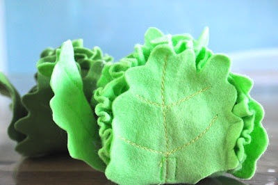 Felt fruit and vegetables, fun and easy to make from Myrtle & Grace