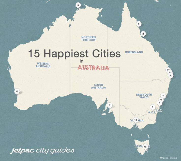 Jetpac City Guides has found Australia's Happiest Cities!