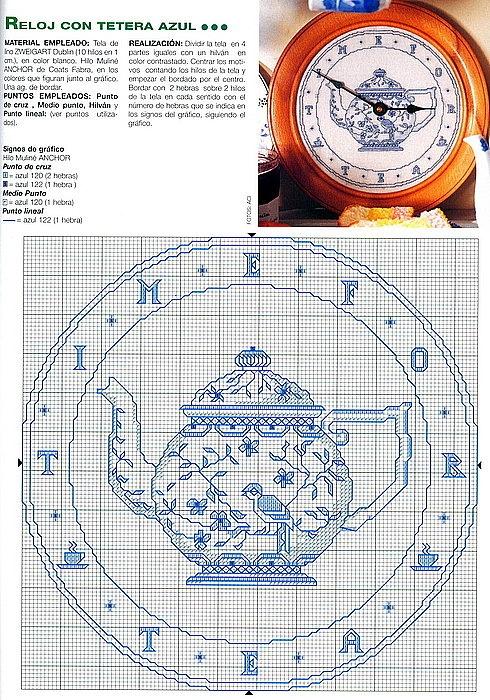 orologio teiera