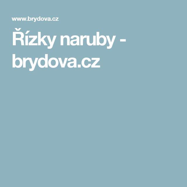Řízky naruby - brydova.cz