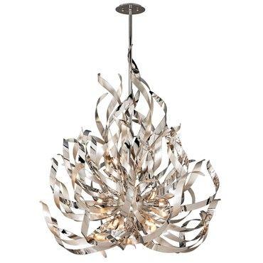 110 best contemporary chandeliers images on pinterest contemporary corbett lighting graffiti modernlighting chandelier mozeypictures Image collections