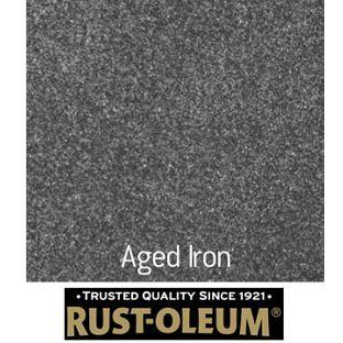 Rust Oleum Textured Spray Paint Aged Iron 400ml From