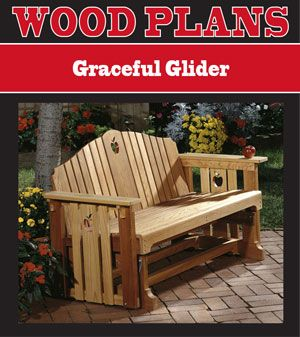 How To Build A Wooden Glider Swing Woodworking Projects
