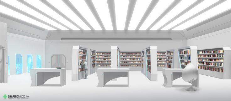 Library illustration