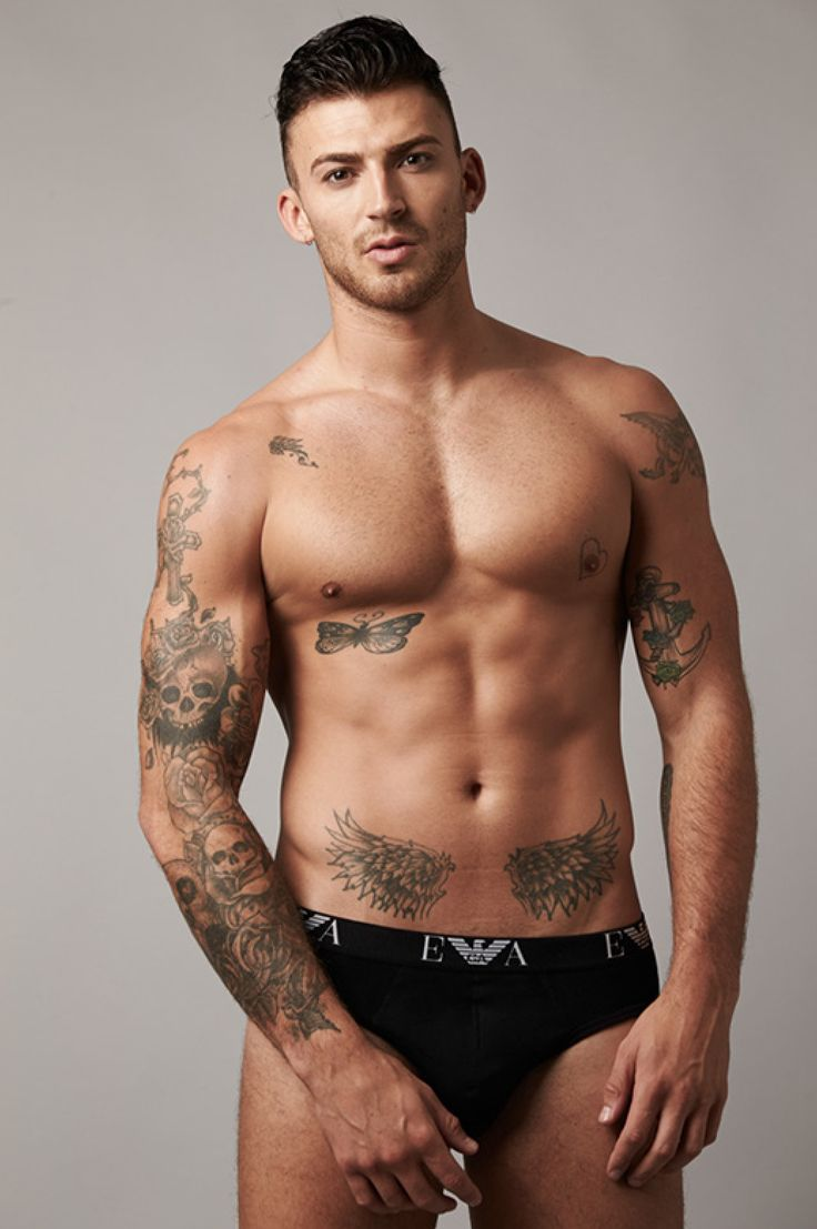 41 best jake quickenden x images on pinterest factors for Naked men tattoo