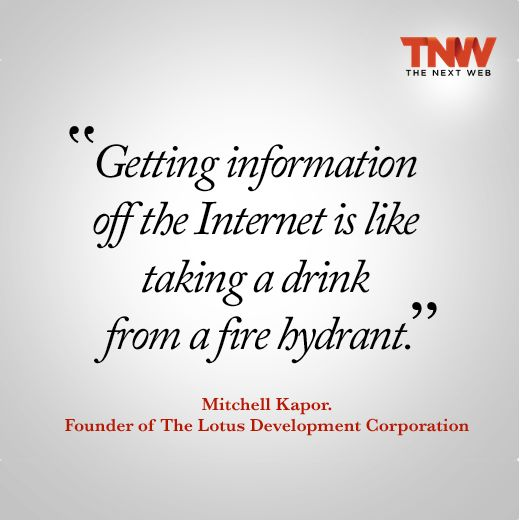 TNW Quotes - This one is from Mitchell Kapor...