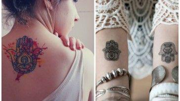 Tatuaggi con mano Hamsa: cosa significano e idee cui ispirarsi 31