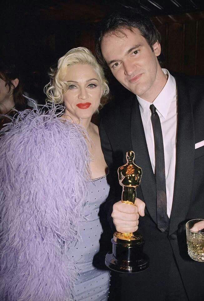 Madonna & Quentin Tarantino