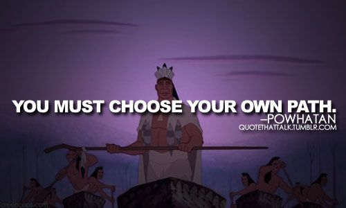 Powhatan from Pocahontas quote
