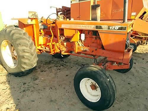 Allis Chalmers 170 tractor salvaged for used parts. This ...