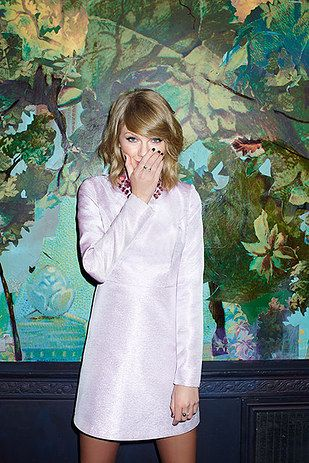 This bejeweled dress. | 14 Awesome Taylor Swift Outfits That Are Actually Affordable
