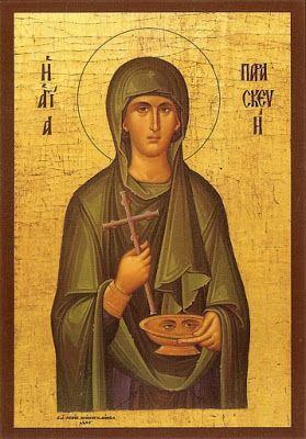 St Paraskevi icon