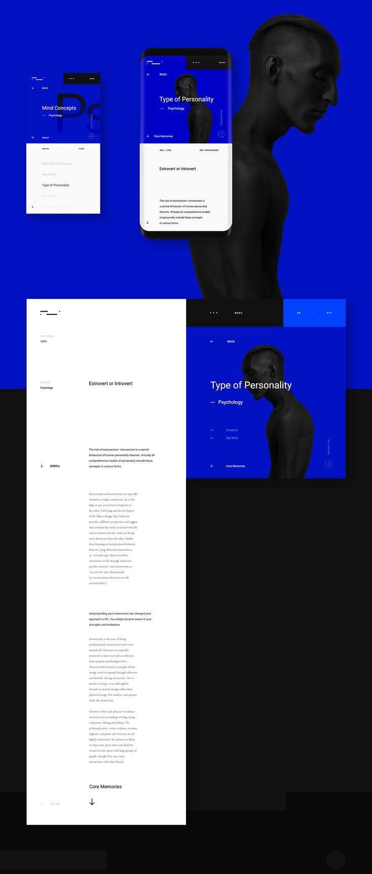 Web Design & UI/UX: Mindshapes™ Concept