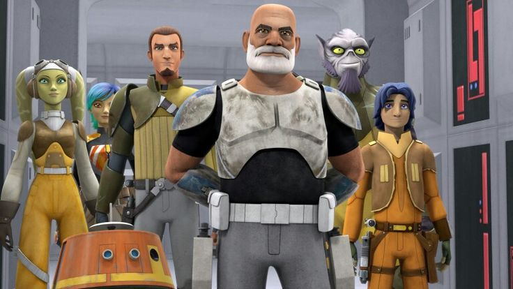 """Star Wars Rebels. Rex still has that """"military presence"""" after all these years! Head up, shoulders back, chest squared, yet relaxed. All the makings of a good officer! ~ if during the episodes he puts on the helmet, I might very well cry!"""