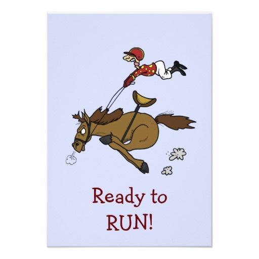 Triple Crown Horse Race Party Invitation by Sand Creek Ventures