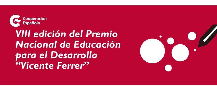 """VIII Premio Nacional de Educación para el Desarrollo """"Vicente Ferrer"""""""