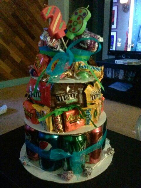 Soda/candy cake