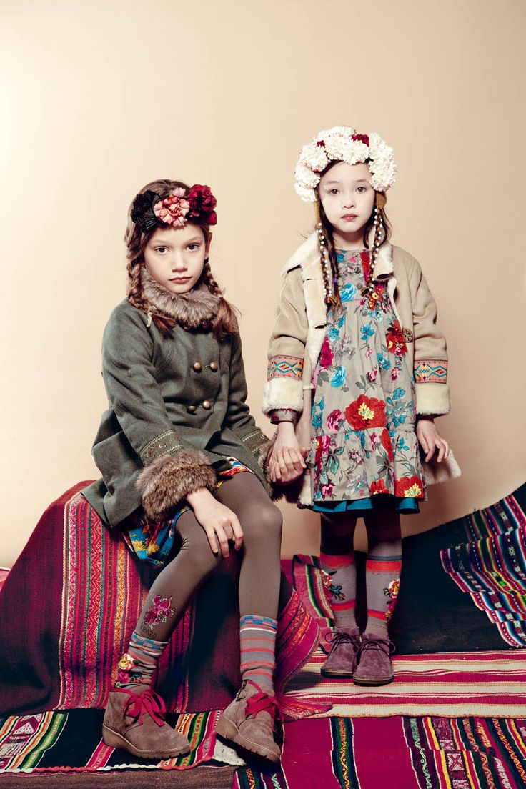 Kenzo Kids, AW 11/12 #girls we heart it! @dimitybourke.com #kidsfashion #childrenswear