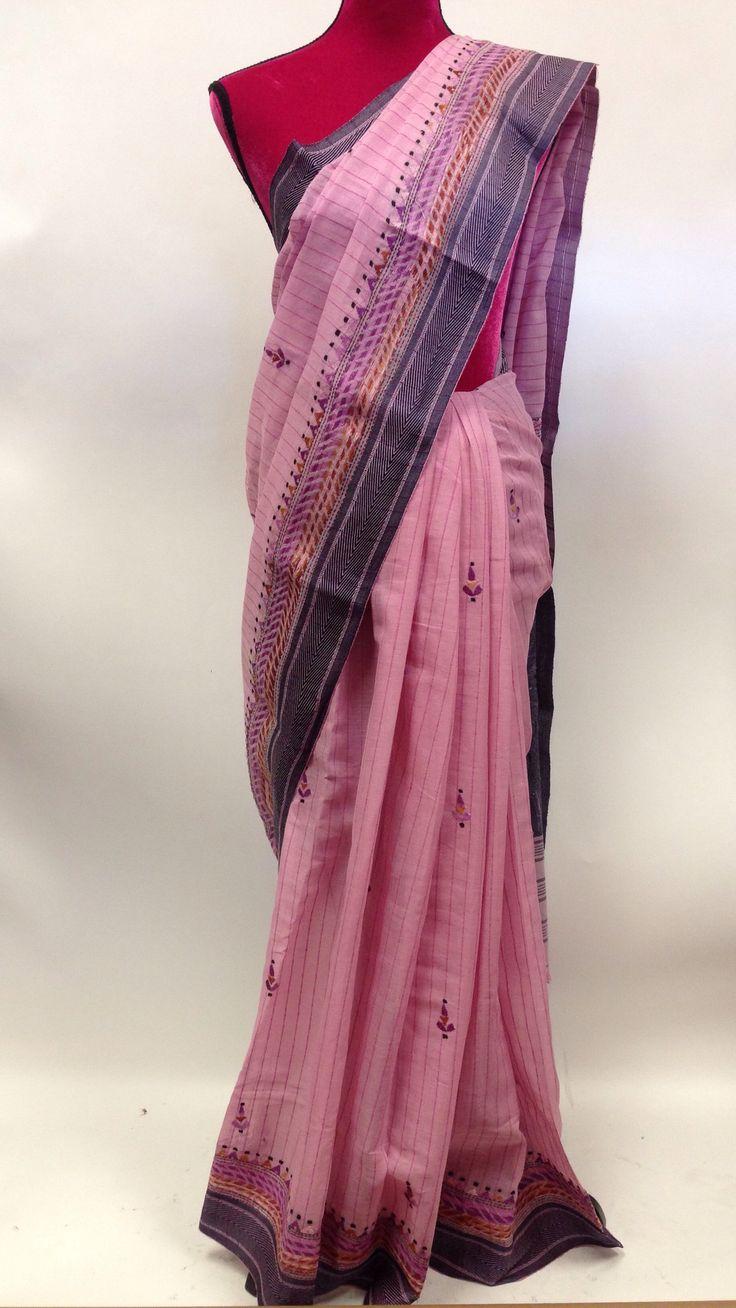 Kantha Work Cotton Saree