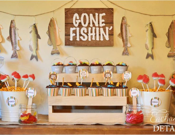 77 best images about get your party on on pinterest for Fishing birthday party