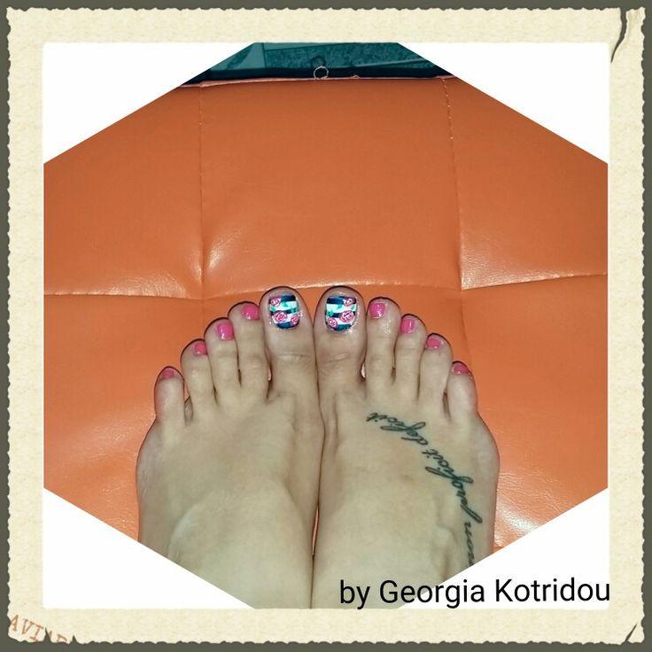Pedicure nails
