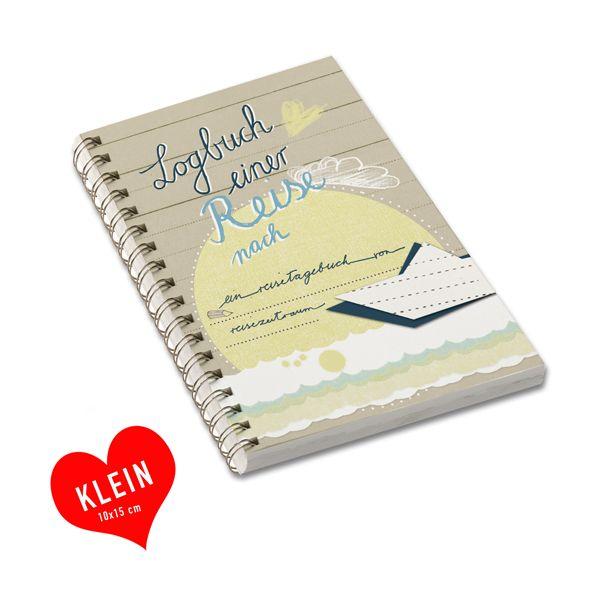 Weiteres - Reisetagebuch Logbuch einer Reise, A6, braun - ein Designerstück von Eine-der-Guten-Illustration bei DaWanda