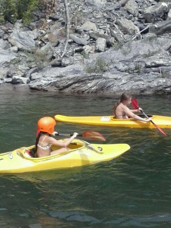 prove gratuite di canoa...
