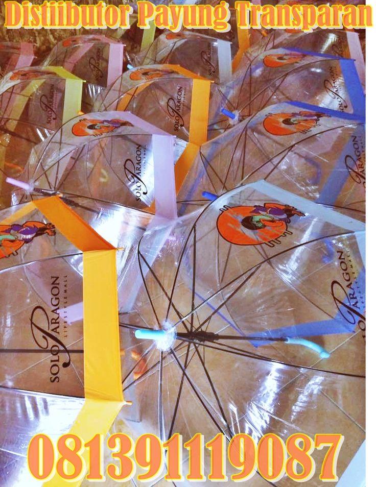 Payung Transparan | Payung Bening-Payung Japanes style-payung promosi