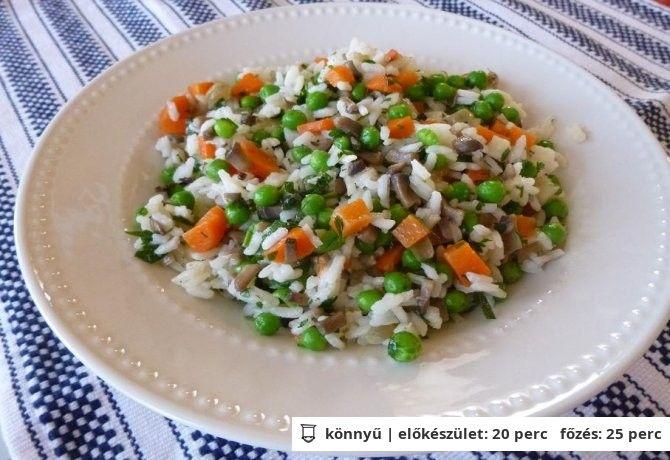 Magyaros rizsköret