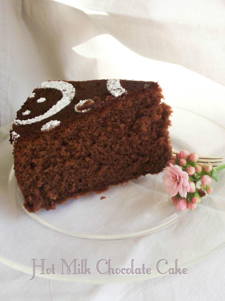 L'Emporio 21: Torta al latte caldo e cioccolato (Hot Milk Chocolate Cake)-la versione definitiva della torta al cioccolato