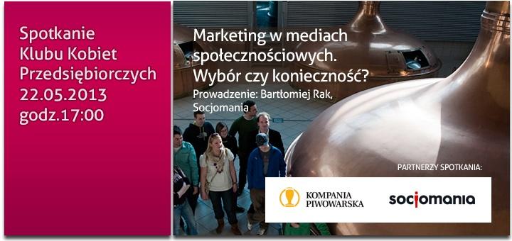 Spotkanie Klubu Kobiet Przedsiębiorczych. 22/05/2013. Szczegóły: www.babilad.pl