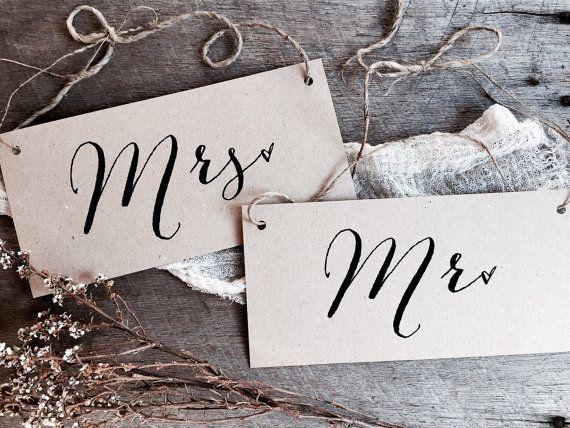 Best 25 Mr Mrs Sign Ideas On Pinterest