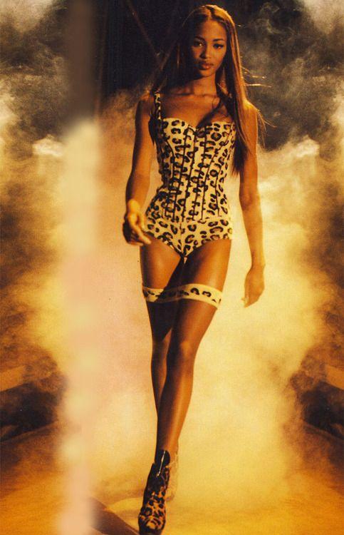 Naomi Campbell, Vogue Italia, December 1991