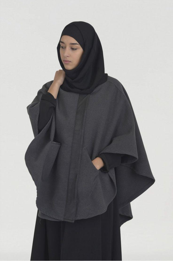 Cape Cachemire et Hijab integre