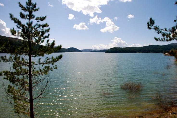 Lago Arvo veduta da #Lorica in #Sila #Calabria