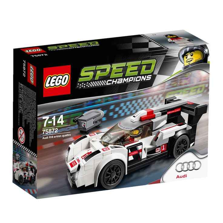 LEGO Speed Champions Audi R18 e-tron Quattro 75872 | Intertoys