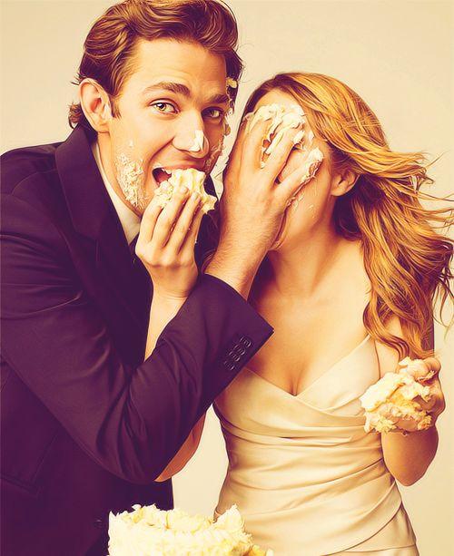 John Krasinski and Jenna Fischer from The Office   The ...