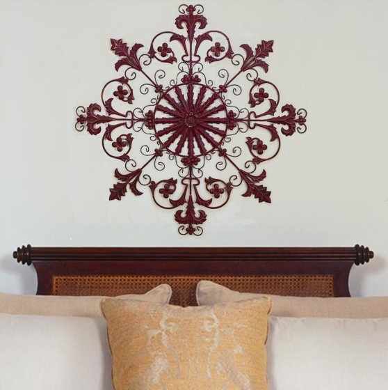 Round iron wall decor : Best images about wall grilles iron on