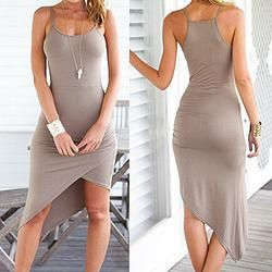 Sexy Fitted Grey Dress www.3029boutique.com