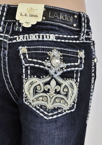 LA Idol Size 8, Girls Kids Capri Crown Bling Jewel Rhinestone Design CY3079CP #LAIdol #CapriCropped
