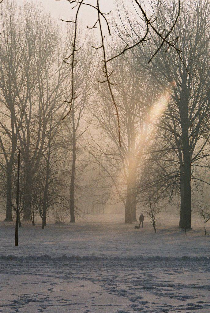 #wilda #poznan #winter Photo by Anna Siwczyk