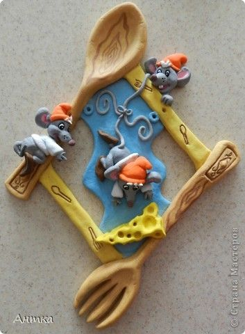 Картина, панно, рисунок Лепка: Панно Сообразим на троих? Тесто соленое Масленица. Фото 1