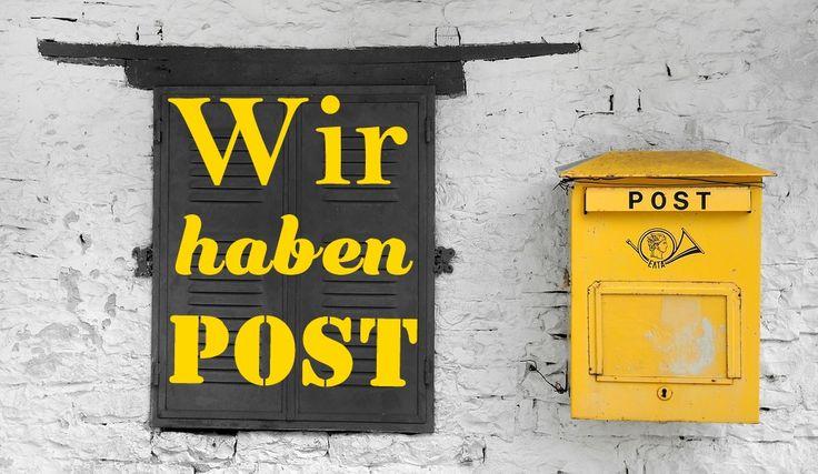 Wir haben Post- Vom Deutschen Tierschutzbund