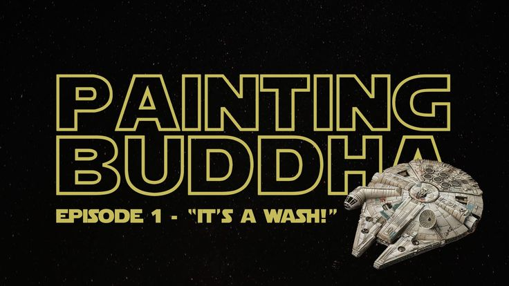 """Star Wars X-Wing: Millenium Falcon Re-Paint - Episode 1 - """"It's a Wash"""""""