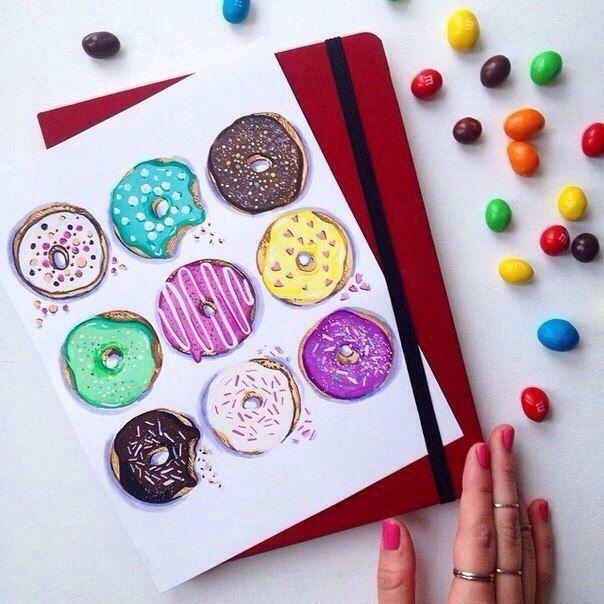 личный дневник, артбук, смэшбук, скетчбук