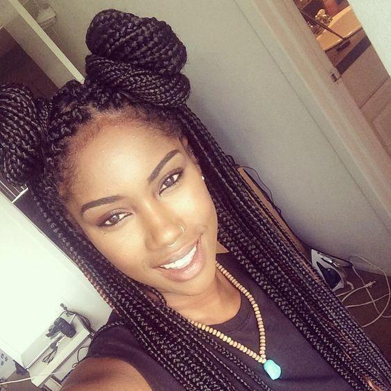 40 Super Goddess Braid Hairstyle for Black Women! #goddessboxbraids #goddessBrai…   – Braid Recipes