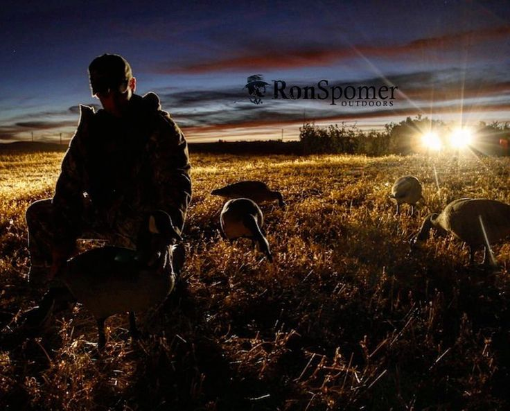 Lights out on another goose season. But spring snows are right around the corner. #du #ducksunlimited #goosehunting #ronspomeroutdoors @ducksunlimitedinc #decoys