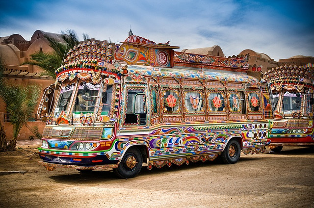 Buses in El Gouna