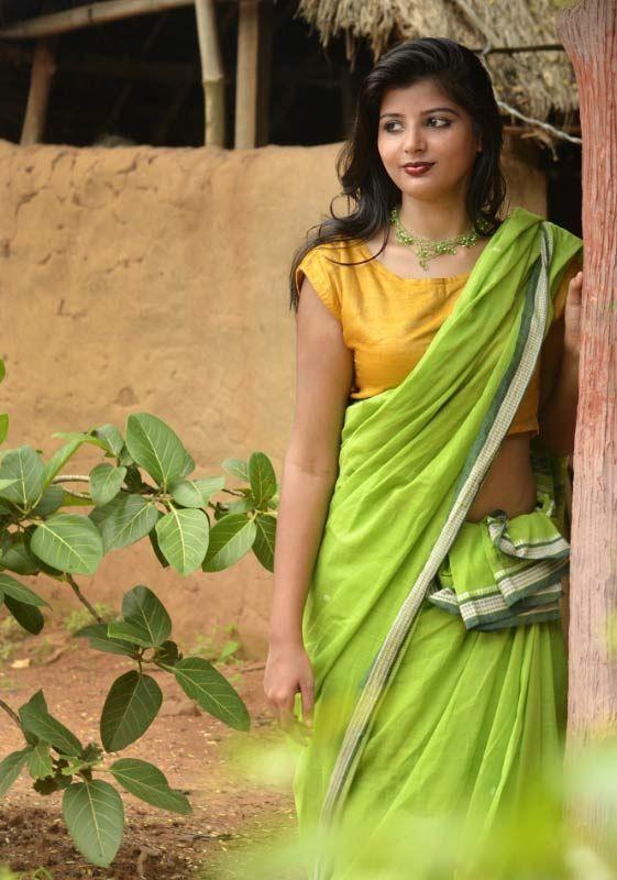 Suta luga ~ Cotton weaves (Monsoon Green)