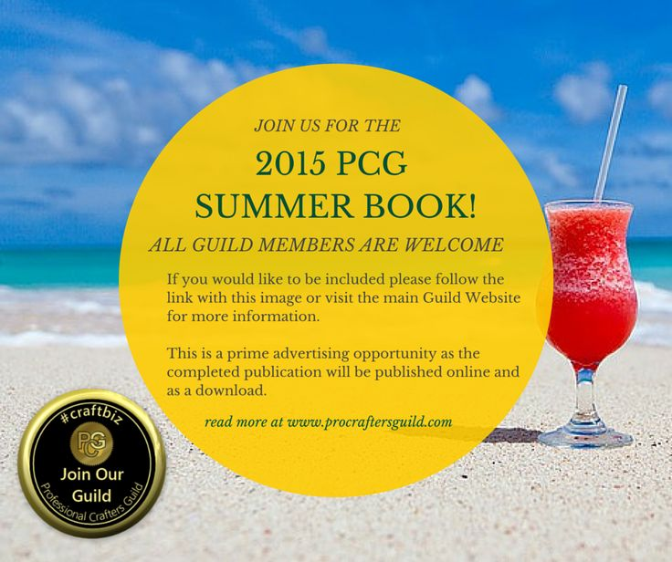 Be part of or Summer Book! www.procraftersguild.com
